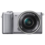 цифровой фотоаппарат Sony Alpha A5000 Kit 16-50 серебристый