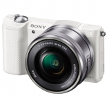 цифровой фотоаппарат Sony Alpha 5000 kit белый