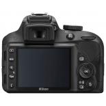 цифровой фотоаппарат Nikon D3300 Kit (AF-P 18-55 mm non VR), черный