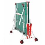 стол теннисный Donic Outdoor Roller De Luxe, Зеленый