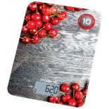 кухонные весы Polaris PKS-1046DG (вишня)