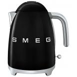 чайник электрический Smeg KLF01BLEU, черный