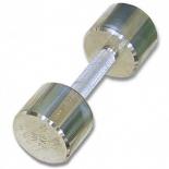гантель MB Barbell  MB-FitM-7,  хромированная