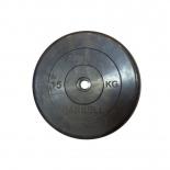 диск для штанги MB Barbell Atlet  (26 мм, 15 кг), Черный
