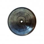 диск для штанги MB Barbell Atlet (26 мм, 25 кг), Черный