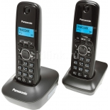 радиотелефон Panasonic KX-TG1612RUH, серый
