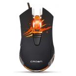 мышка Crown Gaming CMXG-614 черная