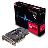видеокарта Radeon Sapphire PULSE Radeon RX 560 4GD5 (45W) 128bit, DVI-D + HDMI + DP, 11267-01-20G
