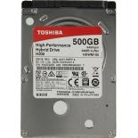 жесткий диск SSHD Toshiba HDWM105EZSTA 500 Gb, 8mb cache, 2.5
