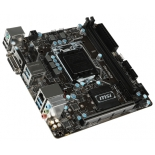 материнская плата MSI B250I Pro (Soc-1151,  B250, DDR4, miniITX, SATA3, LAN-Gbt, USB 3.0)