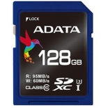 карта памяти ADATA SDXC Memory Card 128GB UHS-I U2, Синяя