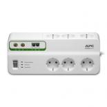 сетевой фильтр APC PMH63VT-RS белый