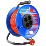 удлинительный кабель PowerCube PC-BG4-K-40, оранжево-синий