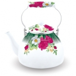 чайник для плиты KELLI KL-4423, Белый