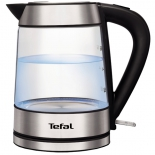 чайник электрический Tefal KI730D30 (металл/стекло)