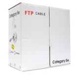 кабель (шнур) Telecom (FTP4-TC305C5EN-CCA-IS), Серый