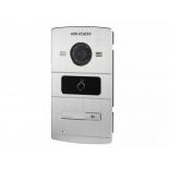 домофонная панель вызова Hikvision DS-KV8102-IM, Серебристая