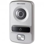 домофонная панель вызова Hikvision DS-KV8102-VP, Серебристая