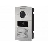домофонная панель вызова Hikvision DS-KV8402-IM, Серебристая