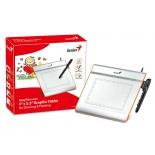 планшет для рисования Genius EasyPen i405X (USB-планшет 4 x 5.5 '' + б/п перо), серебристый