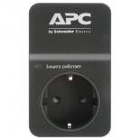 сетевой фильтр APC PM1WB-RS черный