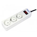 сетевой фильтр Сетевой удлинитель Pilot (Extender-3 7) белый
