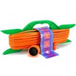 кабель (шнур) PowerCube PC-B1-R-25 (удлинитель) оранжевый
