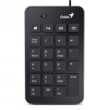 клавиатура Цыфровой блок Genius Numpad i120 черный