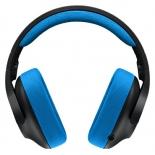 гарнитура для пк Logitech Gaming Headset G233 Prodigy, черно-голубая