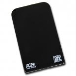 корпус для жесткого диска AgeStar SUB2O1 (2.5'', miniUSB 2.0), чёрный