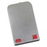 корпус для жесткого диска AgeStar SUB2O1 (2.5'', miniUSB 2.0), серебристый