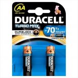 батарейка Duracell Turbo Max (LR6-2BL), AA, 2 шт.
