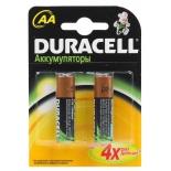 батарейка аккумуляторная Duracell HR6-2BL (AA, 1.2 В, 2450 мАч)
