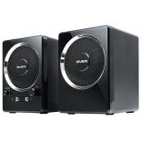 компьютерная акустика Sven 247, 2.0, черный, 4Вт