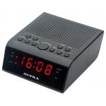 Радиоприемник Радиобудильник Supra SA-44FM, черный