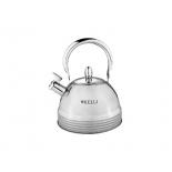 чайник для плиты KELLI KL-4324, Серебристый