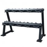 аксессуар для тренажёра DFC PowerGym RA019 стойка для хранения профессиональных гантелей