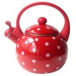 чайник для плиты KELLI KL-4426, Красный