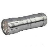 фонарь ручной Трофи TM12, Серебристый