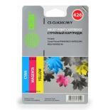картридж для принтера Cactus CS-CLI426C/M/Y, (набор) голубой/желтый/пурпурный