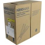 кабель (шнур) Neomax UTP для помещений (в бухте)