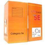 кабель (шнур) Telecom UTP для внешней прокладки (UTP4-TC1000C5E(P/N)-CU-OS)