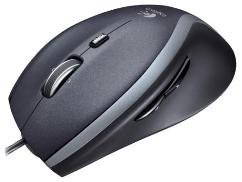 Мышка Logitech Corded Mouse M500 Black USB 2014, вид 2