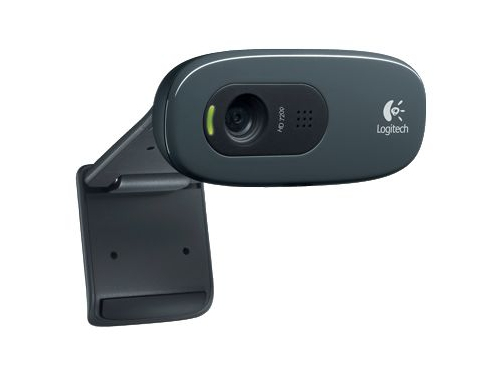 Web-камера Logitech HD Webcam C270, чёрная, вид 1