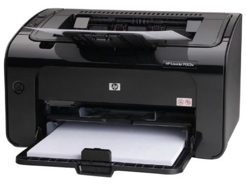 Лазерный ч/б принтер HP LaserJet Pro P1102w  RU ABC, вид 1