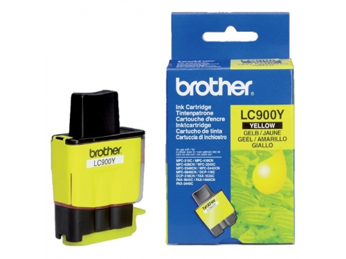 Картридж Brother LC900Y Yellow, вид 1