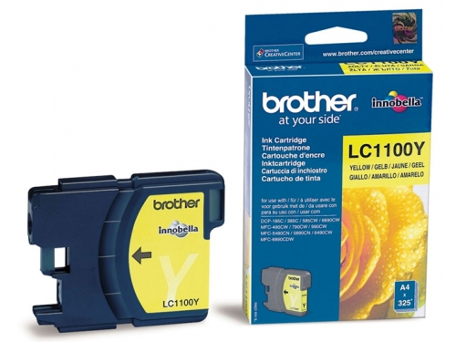 �������� Brother LC1100Y Yellow, ��� 1