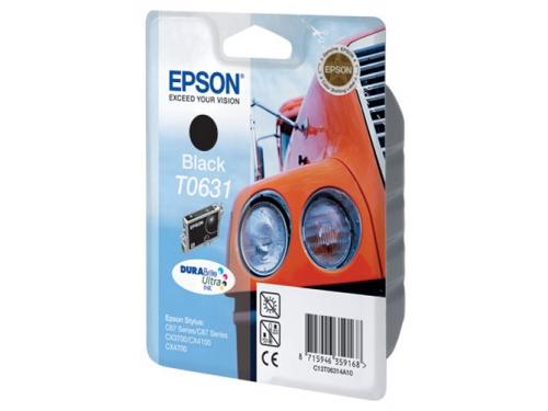 Картридж Epson T0631 Машина Black, вид 1