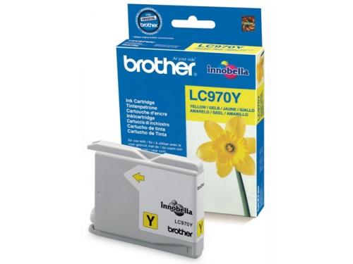 Картридж Brother LC970Y Yellow, вид 1