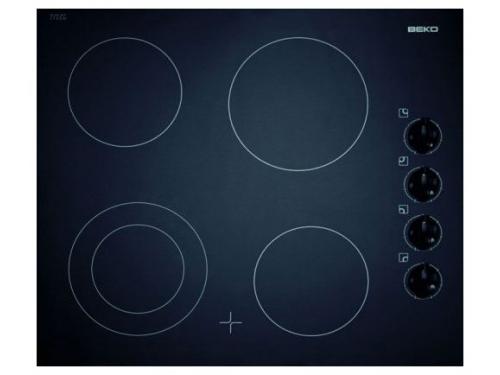Варочная поверхность Beko HIC 64101 X черная, вид 1